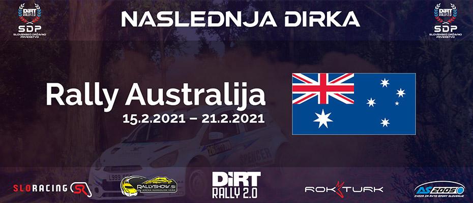 Napovednik digitalne dirke Rally Avstralija